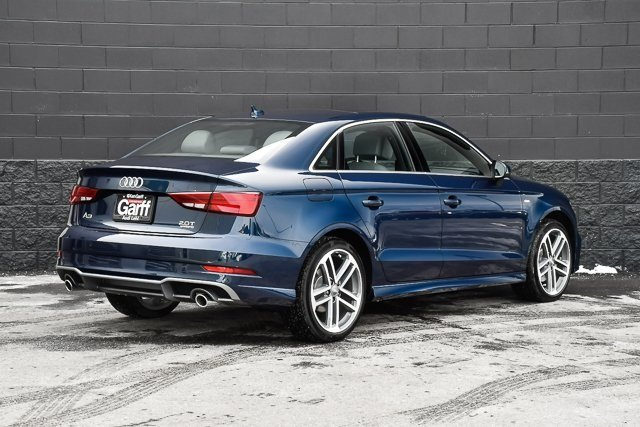 Pre-Owned 2017 Audi A3 Sedan Premium