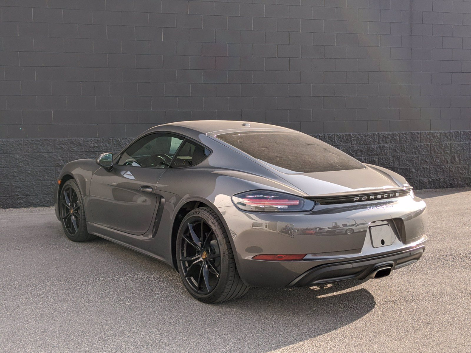 Certified Pre-Owned 2019 Porsche 718 Cayman Base